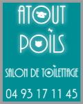 ATOUT POILS - Toilettage » Toiletteur Canin et Félin <br />à Roquebrune-Cap-Martin (06190)